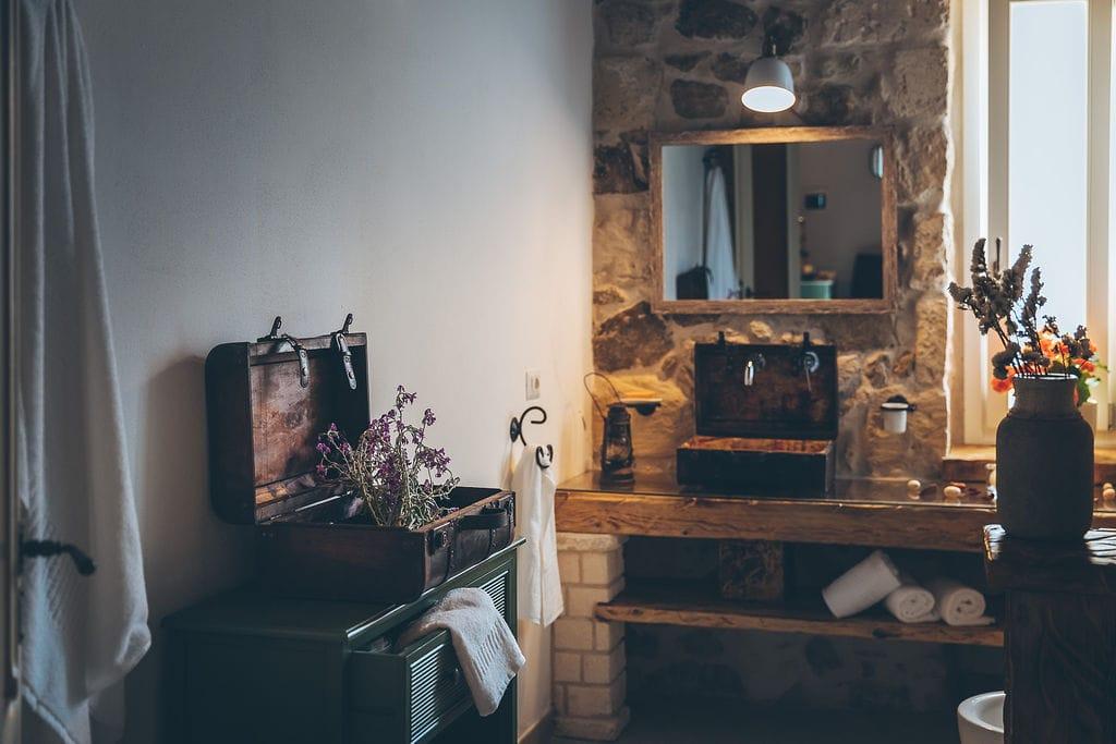 Bagno in Camera Antica Villa Colonica