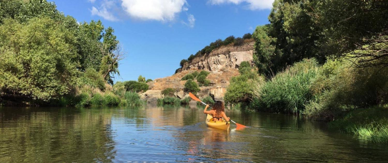 Kayak Fiume Coghinas
