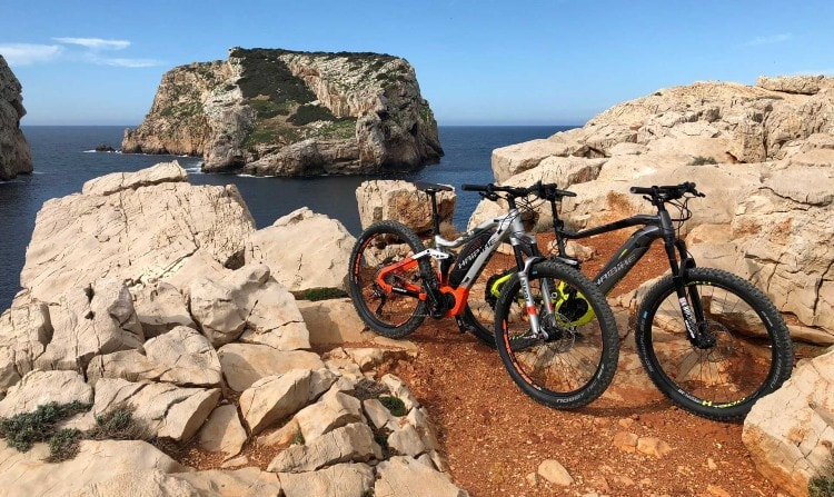 E-bike tour Sardinia