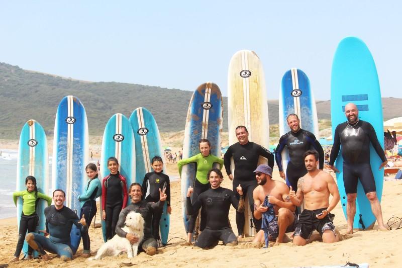 lezione surf Porto Ferro