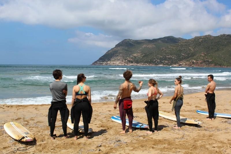 Surf lesson in Sardinia