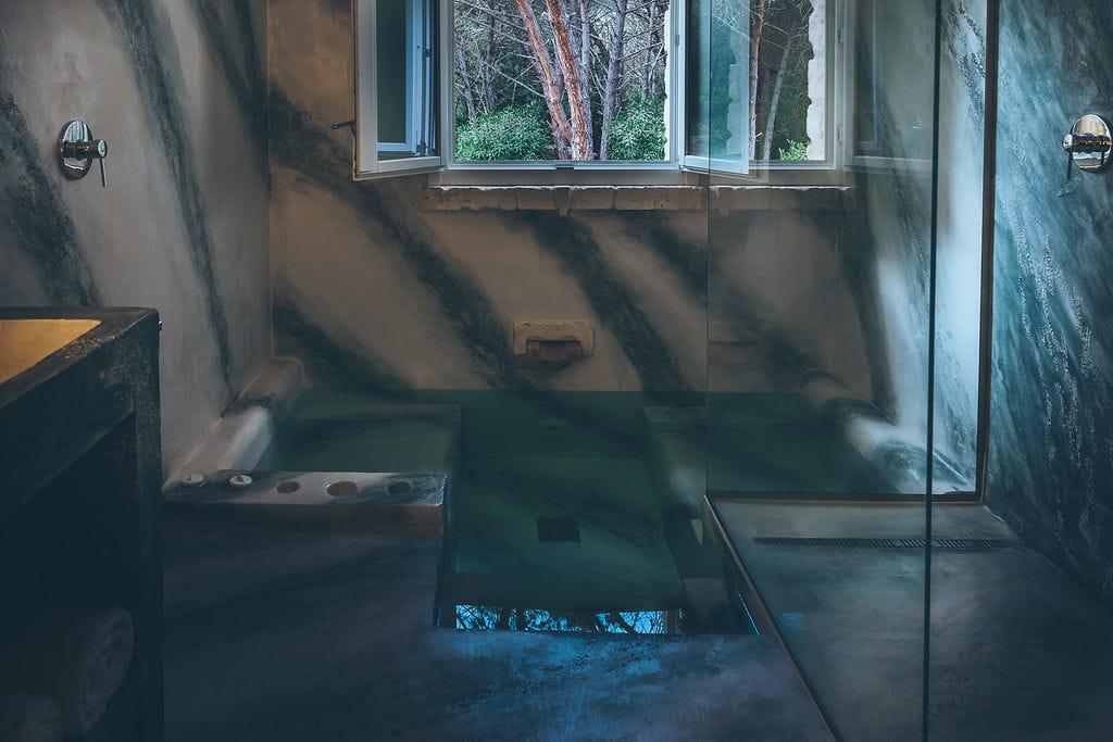Bagno king suite Antica villa colonica