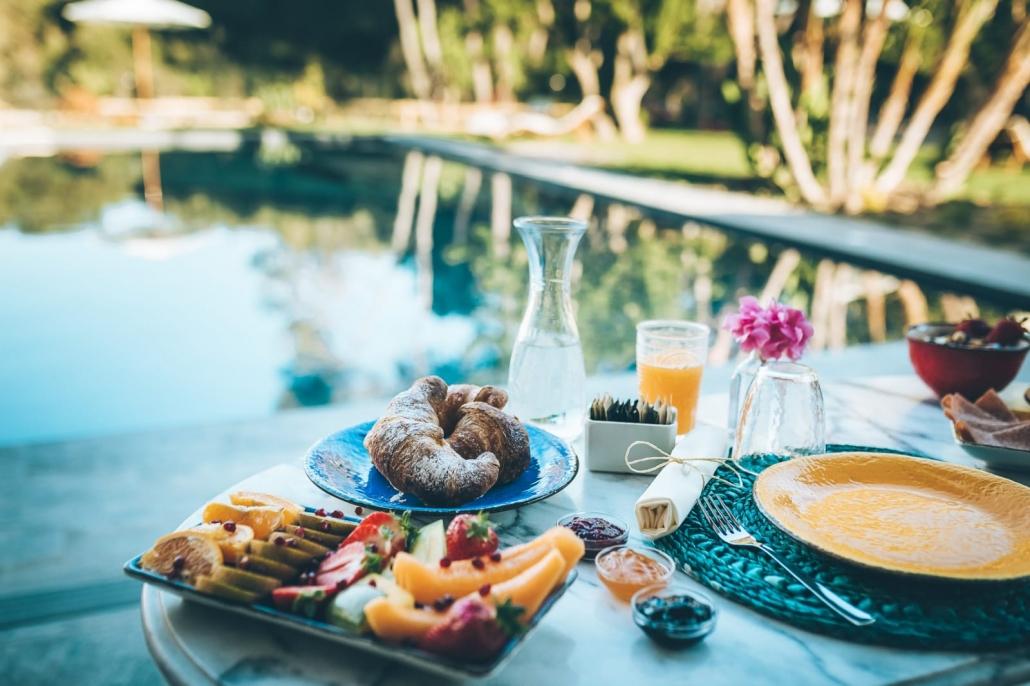 colazione aperto antica villa colonica sorso
